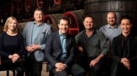 Winemaker team portrait
